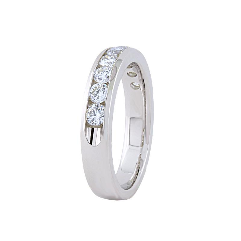 View 0.25ct Channel Set Wedding Ring