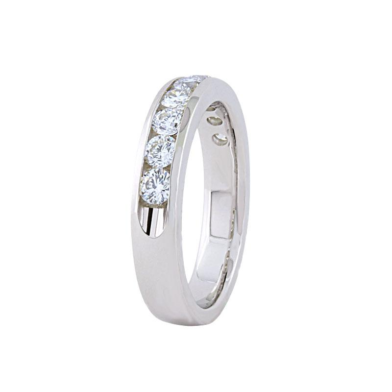 View 0.50ct Channel Set Wedding Ring
